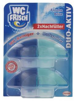 WC Frisch Duo-Aktiv-Nachfüller Frische Brise  (2 x 50 ml) - 4015000308847