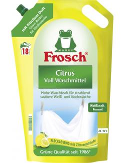 Frosch Waschmittel citrus 18WL  (1,80 l) - 4001499921513