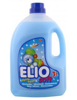Elio Soft Weichspüler alpine fresh  (3 l) - 9002023004097