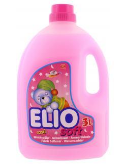 Elio Soft Weichspüler rosé  (3 l) - 9002023004882