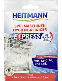 Heitmann Express Spülmaschinen Hygiene-Reiniger  (30 g) - 4052400032804