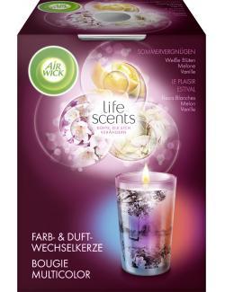 Air Wick life scents Farb- & Duftwechselkerze Sommervergnügen  (140 g) - 4002448094890