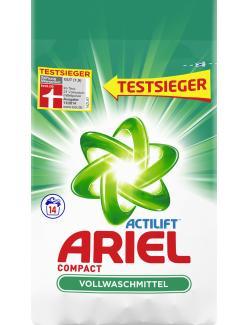Ariel Compact Vollwaschmittel 14WL  - 4015400885344