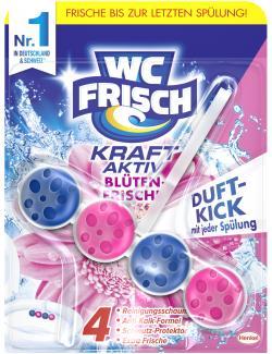 WC Frisch Kraft-Aktiv Duftspüler Blüten Frische  (50 g) - 4015000963091