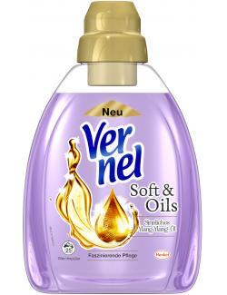 Vernel Weichspüler Soft & Oils Sinnliches Ylang Ylang-Öl  (1 l) - 4015000961202