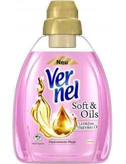 Vernel Weichspüler Soft & Oils Liebliches Magnolien-Öl  (1 l) - 4015000961349