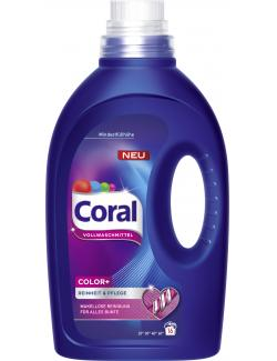 Coral Color+ Vollwaschmittel flüssig   (16 WL) - 8710908504860