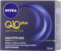 Nivea Q10 Plus Anti-Falten Nachtpflege  (50 ml) - 4005808198863