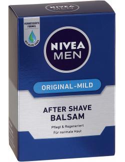 Nivea Men After Shave Balsam Original-Mild  (100 ml) - 4005800144332