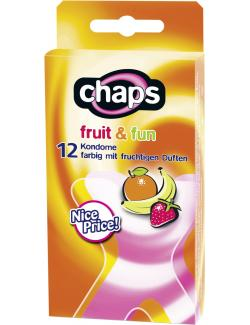 Chaps Kondome Fruit & Fun  (12 St.) - 4044571221248