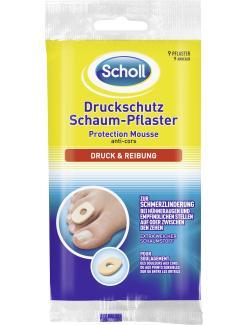 Scholl Druckschutz Schaum-Pflaster  (9 St.) - 4006671036061