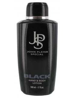 John Player Special Black Hand & Body Lotion  (500 ml) - 4008268042004