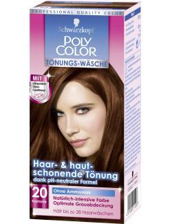 Schwarzkopf Poly Color Tönungs-Wäsche 20 kastanie  (90 ml) - 4015000211208