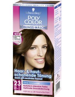 Schwarzkopf Poly Color Tönungs-Wäsche 23 hellbraun  (90 ml) - 4015000211239