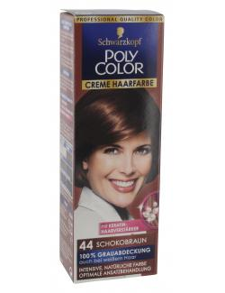 Schwarzkopf Poly Color Creme-Haarfarbe 44 schokobraun  (82,50 ml) - 4015000212113