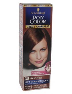 Schwarzkopf Poly Color Creme Haarfarbe 38 haselnuss  (82,50 ml) - 4015000211383