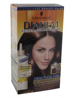 Schwarzkopf Diadem Seiden-Color-Creme 732 schoko-braun  (142 ml) - 4015000217927