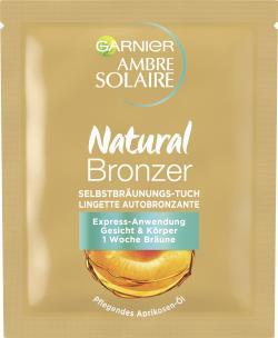 Garnier Ambre Solaire Natural Bräuner Gesichts-Selbstbräunungstuch  - 3600540062918
