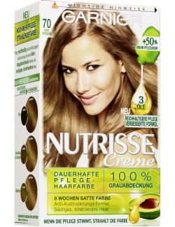 Garnier Nutrisse Creme Intensiv Coloration 70 toffee  - 4002441020278