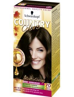 Schwarzkopf Country Colors Intensivtönung 70 brazil dunkelbraun  (113 ml) - 4015000523691