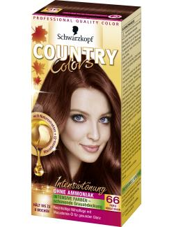Schwarzkopf Country Colors Intensivtönung 66 peru nougat braun  (113 ml) - 4015000523738