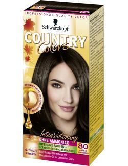 Schwarzkopf Country Colors Intensivtönung 80 arabia schwarzbraun  (113 ml) - 4015000523714