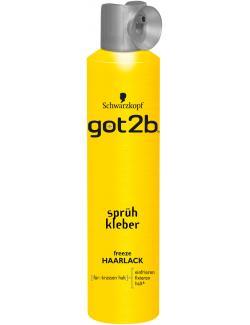 Schwarzkopf got2b Sprühkleber freeze Haarlack  (300 ml) - 4015000516341
