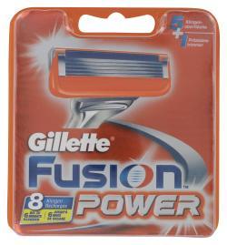 Gillette Fusion Power Klingen  (8 St.) - 7702018383573