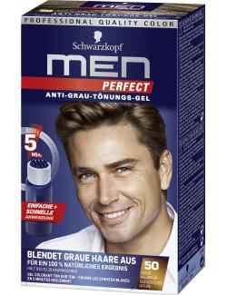 Schwarzkopf Men Perfect Anti-Grau Tönungs-Gel 50 natur hellbraun  (80 ml) - 4015000529143