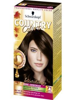 Schwarzkopf Country Colors Intensivtönung 71 kakao dunkel goldbraun  (113 ml) - 4015000531023