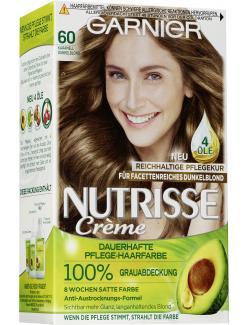 Garnier Nutrisse Creme Intensiv Coloration 60 dunkelblond  - 4002441020292