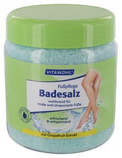 Vitawohl Fußpflege Badesalz  (600 g) - 4009737306924