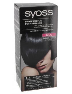 Syoss Professional Performance Coloration 1-4 blauschwarz  (115 ml) - 4015000544979