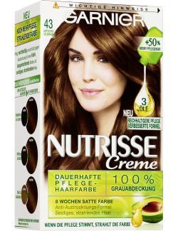 Garnier Nutrisse Creme Intensiv Coloration 43 cappuccino  - 4002441020087