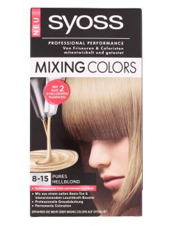 Syoss Mixing Colors 8-15 Pures hellblond  (135 ml) - 4015000942959