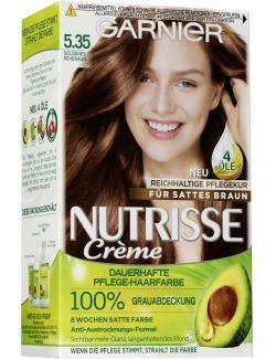 Garnier Nutrisse Creme Intensiv Coloration 5.35 goldenes Rehbraun  (1 St.) - 3600540871565
