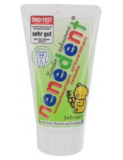 Nenedent Kinderzahncreme mentholfrei  (50 ml) - 4102968000415