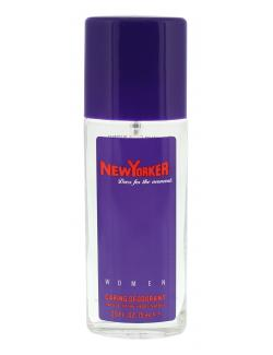 New Yorker Caring Deodorant Spray  (75 ml) - 4011700912032