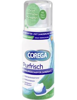 Corega Purfrisch Reinigungsschaum für Zahnersatz  (125 ml) - 4026600851503