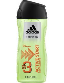Adidas Active Start 3in1 Shower Gel + Shampoo + Face Wash  (250 ml) - 3412247320013
