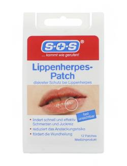 SOS Lippenherpes Patch  (12 St.) - 4036581526949