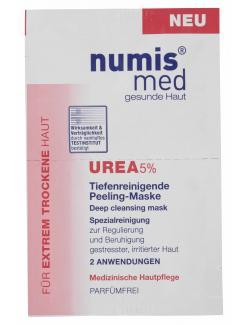 Numis med Urea Peeling-Maske mit 5% Urea  (2 x 8 ml) - 4003583161164