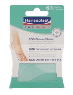 Hansaplast Foot Expert SOS Blasen-Pflaster  (6 St.) - 4005800005756