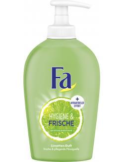 Fa Hygiene & Frische Flüssigseife Duft der Limette  (250 ml) - 4015000997553