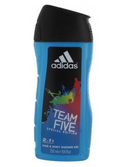 Adidas Team Five Special Edition 2in1 Hair & Body Shower Gel  (250 ml) - 3607340988257