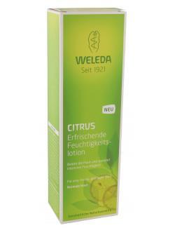 Weleda Citrus erfrischende Feuchtigkeitslotion  (200 ml) - 4001638088565