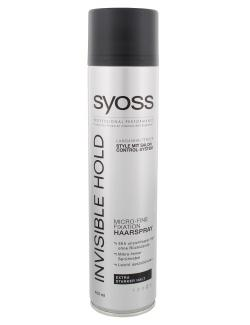 Syoss Invisible Hold Micro-Fine Fixation Haarspray  (400 ml) - 4015000975438