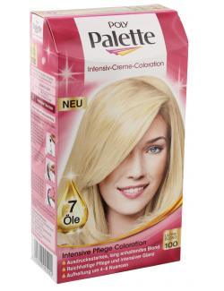 Schwarzkopf Poly Palette Coloration 100 ultrablond  (115 ml) - 4015000992992