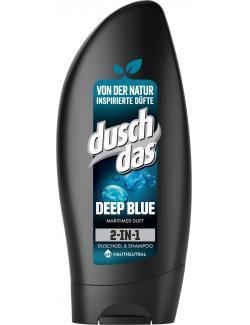 Duschdas 2in1 Deep Blue Duschgel & Shampoo mit Meeresmineralien  (250 ml) - 8711700962025