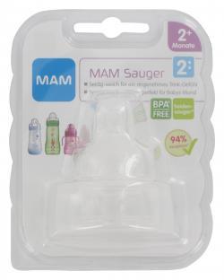 MAM Seiden Sauger 2+ Monate  (2 St.) - 9001616664113